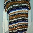White Stag Multi Color Sweater Size = 20W