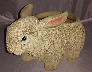 Bunny Rabbit Planter/ Candy Bowl