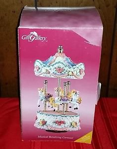 Musical Revolving Carousel by Gift Gallery - New in Box