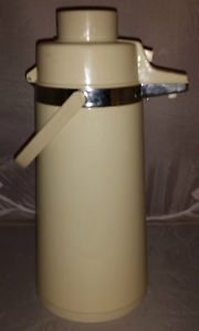 """Vintage Coffee/Tea """"Tailgater Special"""" Thermos Carafe Pump"""