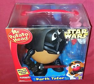 Hasbro Star Wars Playskool Mr Potato Head + Darth Vader = Darth Tater / NIB