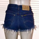 Vintage Lee Riders High Waist Cut Off Mom Shorts~3/4~