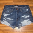 American Eagle Outfitters Vintage High Rise Festival Shorts~8~