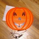 Blinky Glow Lite Pumpkin Jack O Lantern Double Sided Blow Mold Halloween Decor