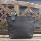 Vintage Coach Black Leather Soho Lafayette Tote Bag
