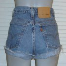 Vintage Levis Orange Tab High Waist Cut Off Jean Shorts~16~