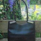 Vintage Brighton Black Pebbled Leather Shoulder Bag