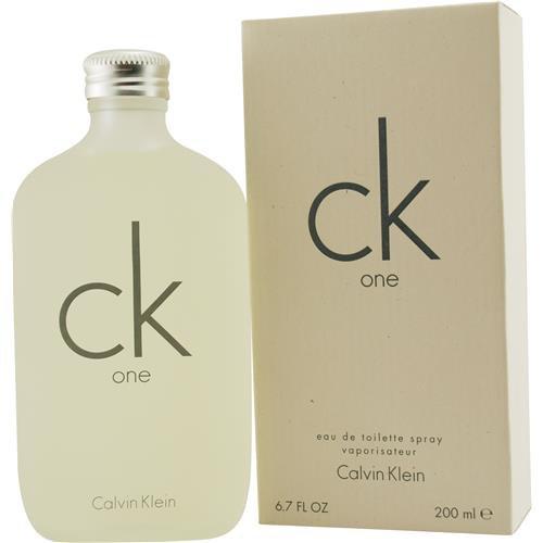 CK ONE by Calvin Klein EDT SPRAY 6.7 OZ