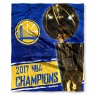 The Northwest Company 2017 Golden State Warriors Champs Silk Touch Throw(Doba)