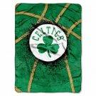 """Celtics OFFICIAL National Basketball Association, """"Shadow Play"""" 60""""x 80"""" Raschel"""