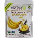 Nature's All Foods - Dark Chocolate Covered Bananas ( 12 - 4 OZ)