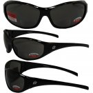 Birdz Sparrow Riding Glasses Gloss Black Frame with 2.0 Bifocal Smoke Lenses