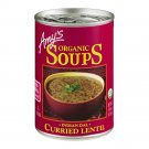Amy's Organic Curried Lentil Indian Dal Soup, 14.5 oz cans Pack of 3