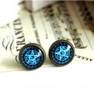 10mm Butler Earring Glass Dome Earrings Magic Studs Earrings Kuroshitsuji Earring