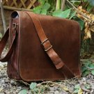 Leather Full Flap Messenger Handmade Bag Laptop Bag Messenger Bag Satchel Bag