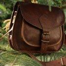 "9"" X 7"" Brown ,Genuine Leather Women's Bag /Handbag / Tote/purse/ Shopping Bag"