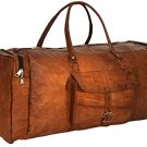 "Gusti Leder nature ""Toby"" Genuine Leather Travel Shoulder Holdall Bag Unisex"