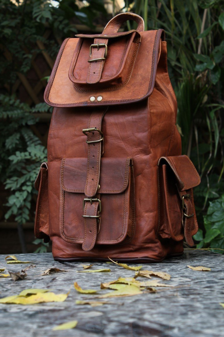 Leather Messenger Satchel Genuine Auth Real Leather Messenger Laptop Briefcase Satchel Bag