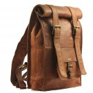 Leather Backpack College/Rucksack/School/Travel Leather Backpack/Laptop Backpack