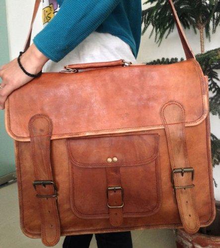 Handmade Vintage Leather Messenger Bag/satchel/tanned Leather Bag/Laptop Bag/Men Office Bag