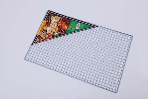 25 x 40cm BBQ Grill Wire Mesh Net Grid Camping Barbecue Tool For Indoor/Outdoor