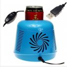 USB Gift Mini PC Cooler&Warmer Home Small Refrigerator Freezer For Car Traveling