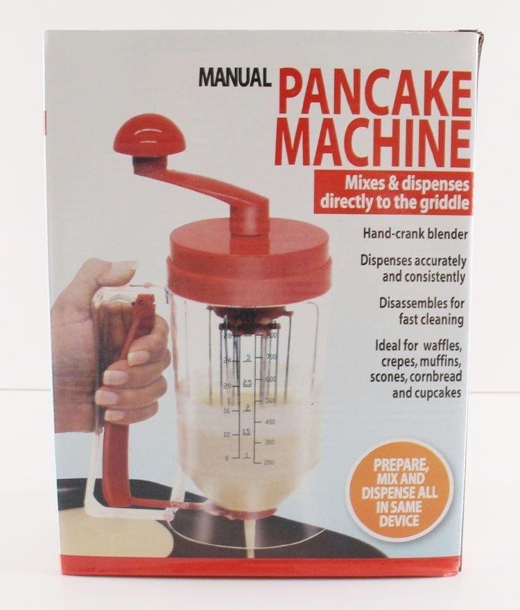 Hand-stirred Batter Dispenser Cup Cake Bakeware Distributor Pancake Machine DIY