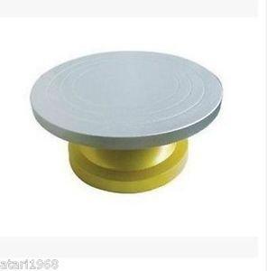 Cake Turn Table Rotating Swivel Plate Turntable Steel Decorating Num.HL-080#
