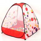 Large Spot Baby Child Play Tent + 50 ocean balls kids game house 5.5cm wave ball
