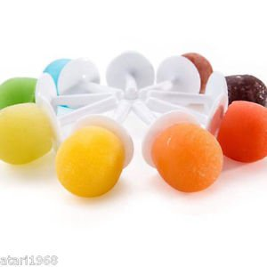Mini Pop Lolly Cream Makers 9Pops Silicone Mold Candy Chocolate Ice Mold Freezer