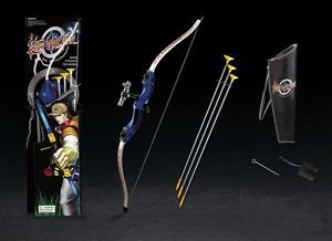Blue King Archery Shooting Bow & Arrow Set - 3 Suction Cup Arrows Toy for Kids