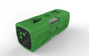 2015 Green Speaker 3D Surround Waterproof Bluetooth Wireless Outdoor Stereo Gift