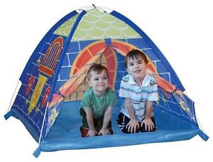 New Child Kid Play Tent Blue House Baby Educational Game Toys Knights Dome