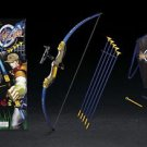 Yellow King Archery Shooting Bow & Arrow Set - 3 Suction Cup Arrows Toy for Kids