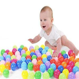 200PCS 5.5cm Marine Ball Colorful Water Pool Ocean Wave Balls Baby Funny Toy
