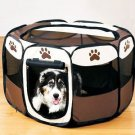 Outdoor Waterproof Animal Playpen Pet Cat Dog Fence Oxford Toy Cage House Tent