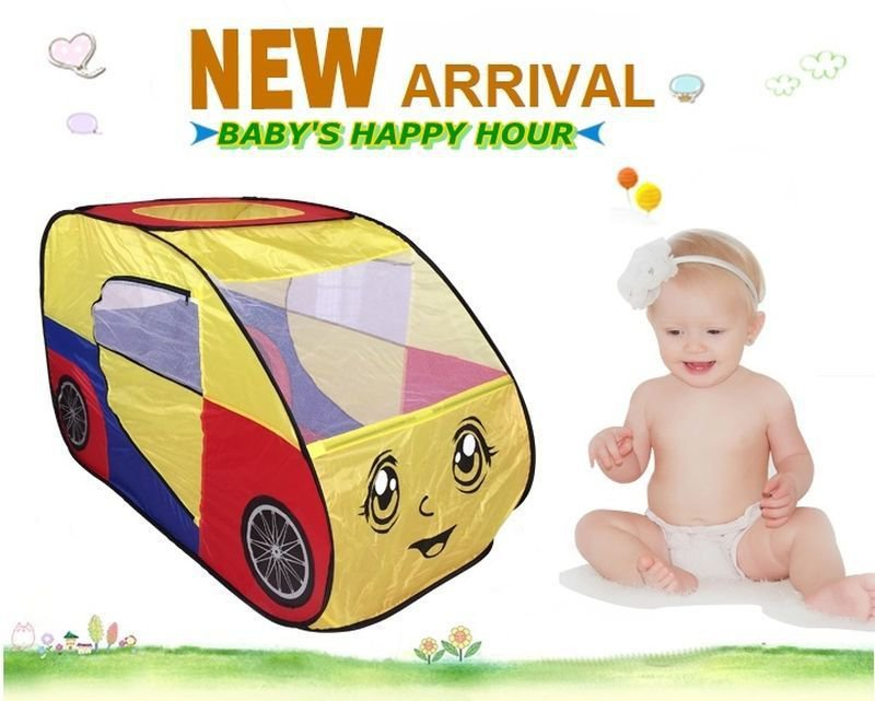 New Large Super Jumbo Automobile Play Childrens Baby Outdoor Toys Tent Kids Gift