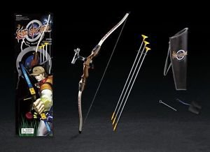Brown King Archery Shooting Bow & Arrow Set - 3 Suction Cup Arrows Toy for Kids