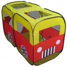 New Mini-Bus Garden Toys Play House Childrens Baby Tent Kids Indoor/Outdoor Gift