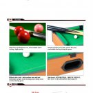 New Mini Pool Billiard Table Childrens Kids Game Tabletop Set Indoor Toys Gift