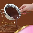 304 Stainless Steel Cake Chocolate Sugar Melting Bar Bowl Butter Heating Spoon