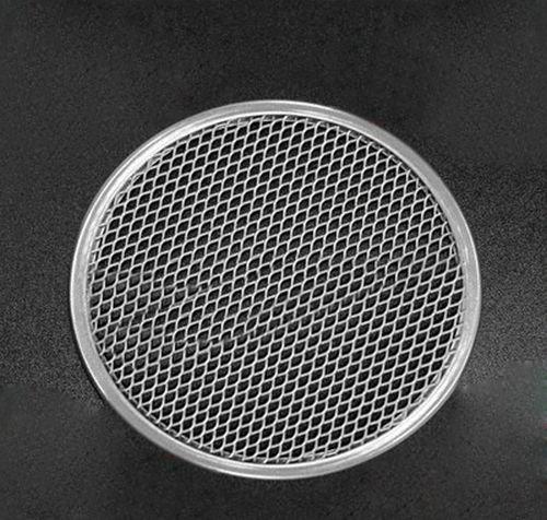 9 Inch Aluminum Flat Mesh Pizza Screen Round Baking Tray Net Kitchen Tool #524948990525