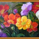 DIY 5D Flowers Full Diamond Painting Resin Drill Canvas Embroidery Crystal Draw