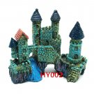 HY002 Aquarium Decoration Gift Fish Tank Decor Resin Ornament Bridge Castle