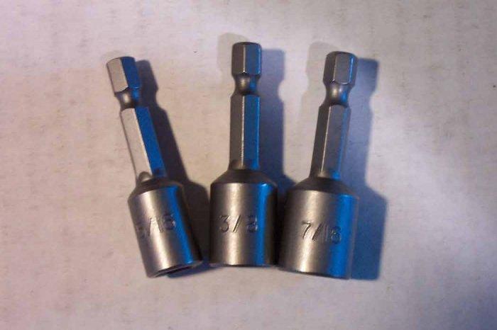 BN-02 3pc. Hanson Magnetic Nut Setter Bit Set
