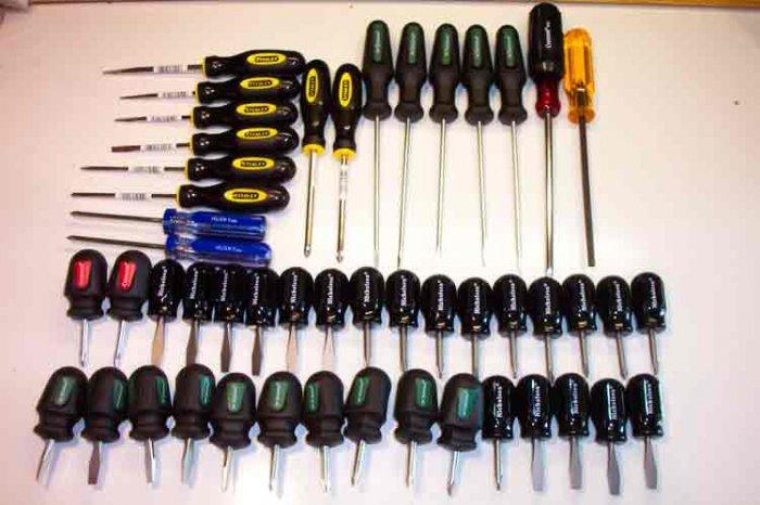 SD-50pc 50 Piece Name Brand Screwdriver Assortment