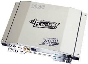 Cds-Legacy 240 Watts Max 2-Channel Amplifier-LA190