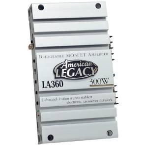 Cds-Legacy 2-Channel 300 Watts Max Bridgeable Amplifier-LA360