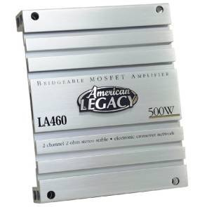 Cds-Legacy 2-Channel 600 Watts Max Bridgeable Amplifier-LA460