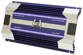 Cds-Blitz Audio 2-Channel 2400 Watts Max Amplifier with Blue Neon Light-BZA2660